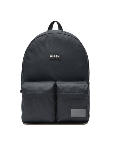KIRSH POCKET TWO POCKET BACKPACK IA [GRAY]