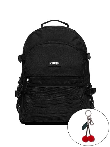 KIRSH POCKET STORAGE BACKPACK IA [BLACK]