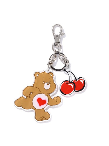 (11월25일 예약발송)CARE BEAR CHERRY KEY RING [BROWN]