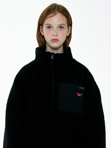 CHERRY BEAR JACKET IA [BLACK]