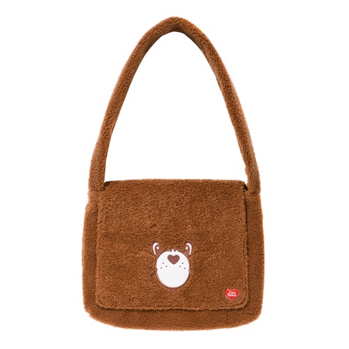 CARE BEAR SEARING CROSS BAG [BROWN]