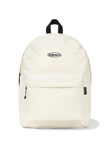 (1월31일 예약발송)KIRSH POCKET CIRCLE LOGO BACKPACK JS [IVORY]