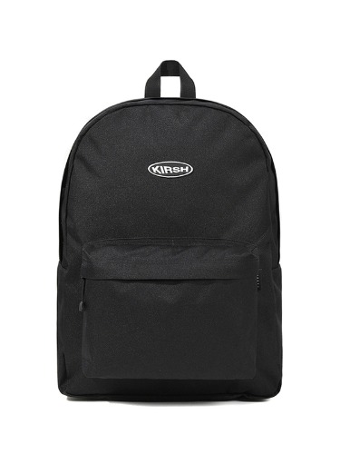 (1월31일 예약발송)KIRSH POCKET CIRCLE LOGO BACKPACK JS [BLACK]