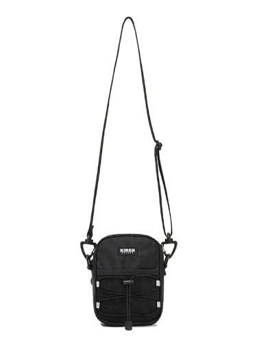 KIRSH POCKET STRING CROSSBAG JS [BLACK]