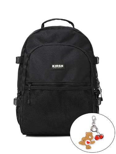 (1월31일 예약발송)KIRSH POCKET STORAGE BACKPACK JS [BLACK]