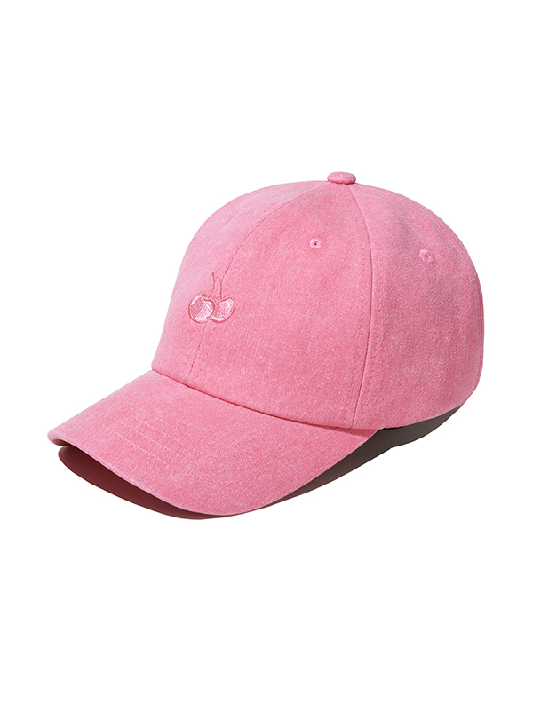 (1월31일 예약발송)TONE ON TONE CHERRY CAP JS [PINK]