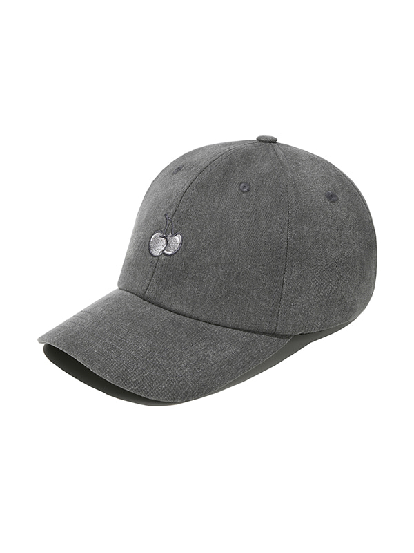 (1월31일 예약발송)TONE ON TONE CHERRY CAP JS [CHARCOAL GRAY]