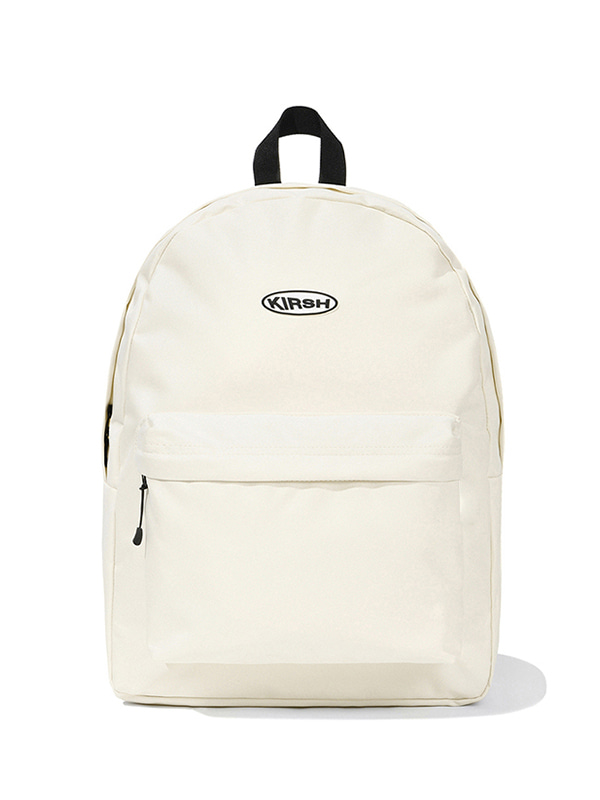 KIRSH POCKET CIRCLE LOGO BACKPACK JS [IVORY]