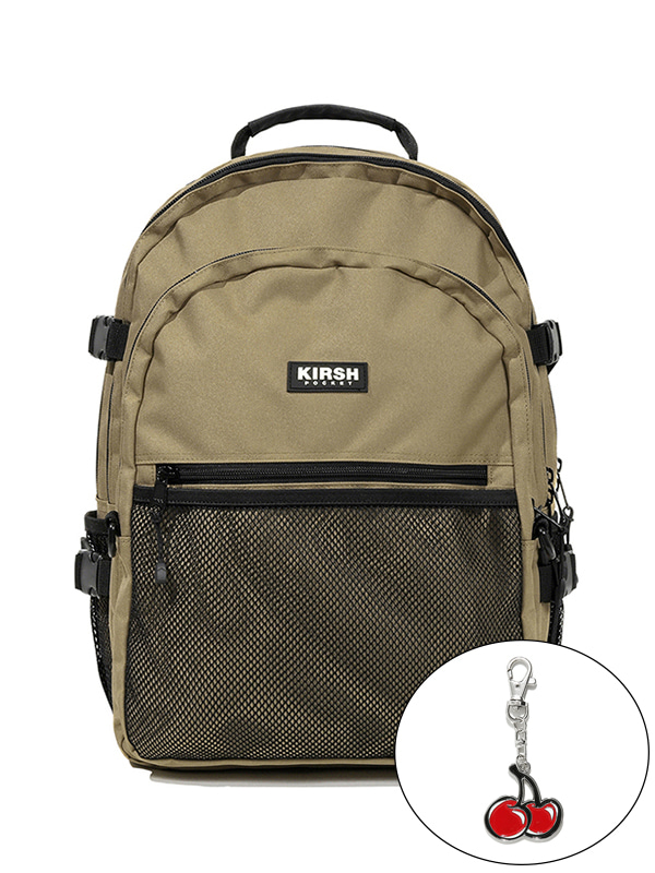 KIRSH POCKET STORAGE BACKPACK JS [BEGIE]