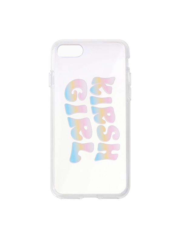 GRADATION KIRSH GIRL MIRROR IPHONE CASE JS [CLEAR]