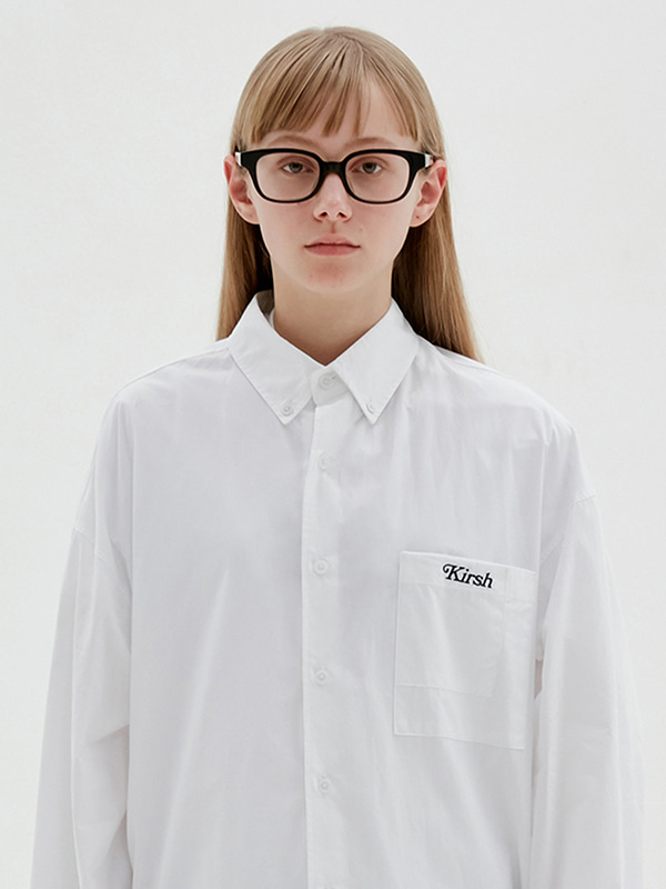 KIRSH TWO POCKET SHIRTS JS [WHITE]