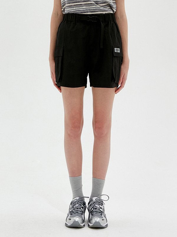KIRSH POCKET SHORT PANTS JS [BLACK]
