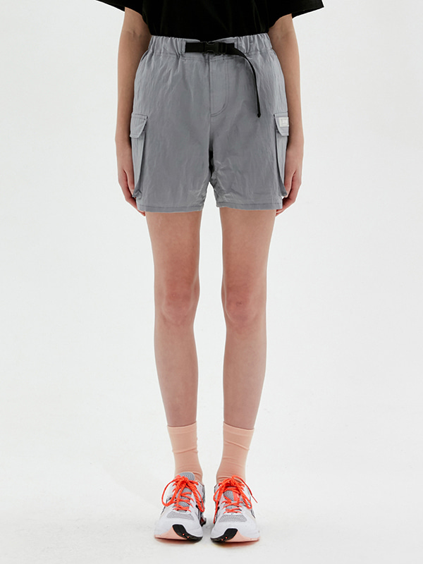 KIRSH POCKET SHORT PANTS JS [LIGHT GRAY]