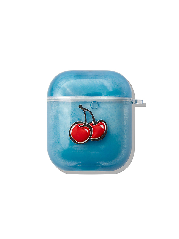 COLOR CLEAR AIRPODS JH [BLUE]