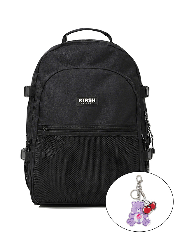 KIRSH POCKET STORAGE BACKPACK JS [BLACK]