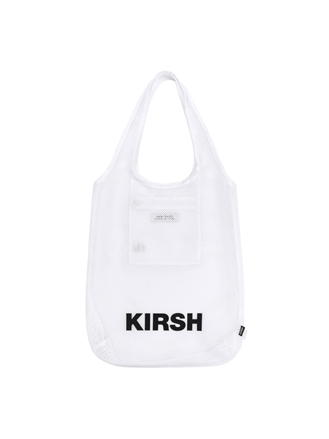 KIRSH POCKET BEACH MESH BAG JH [WHITE]