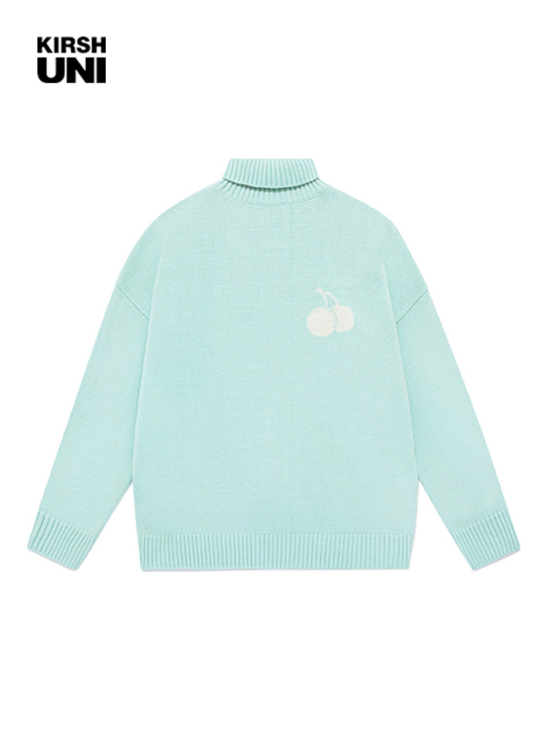 UNI MIDDLE CHERRY HIGHNECK KNIT JA [MINT]