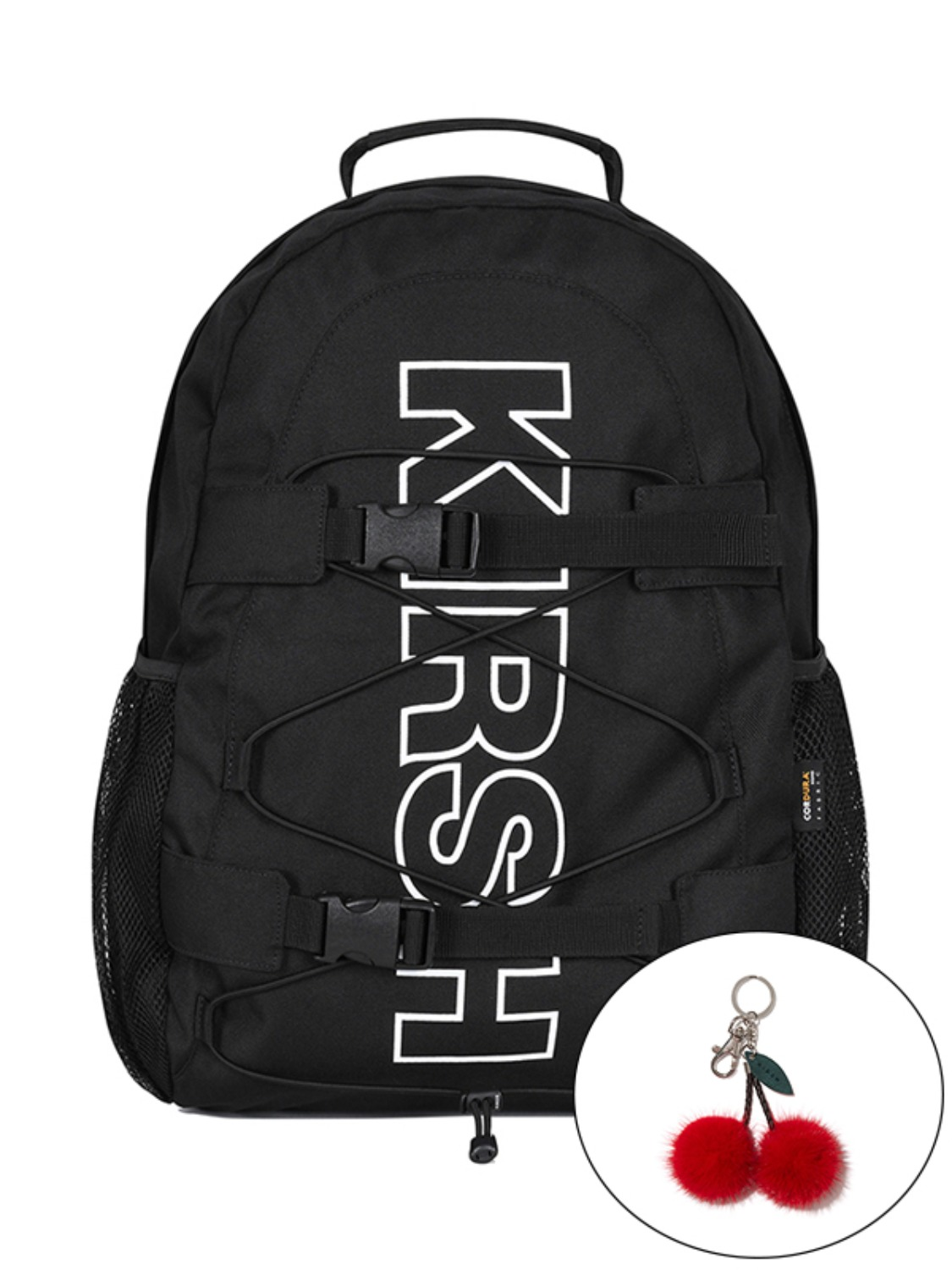 KIRSH POCKET SPORTS BACKPACK KS [BLACK]