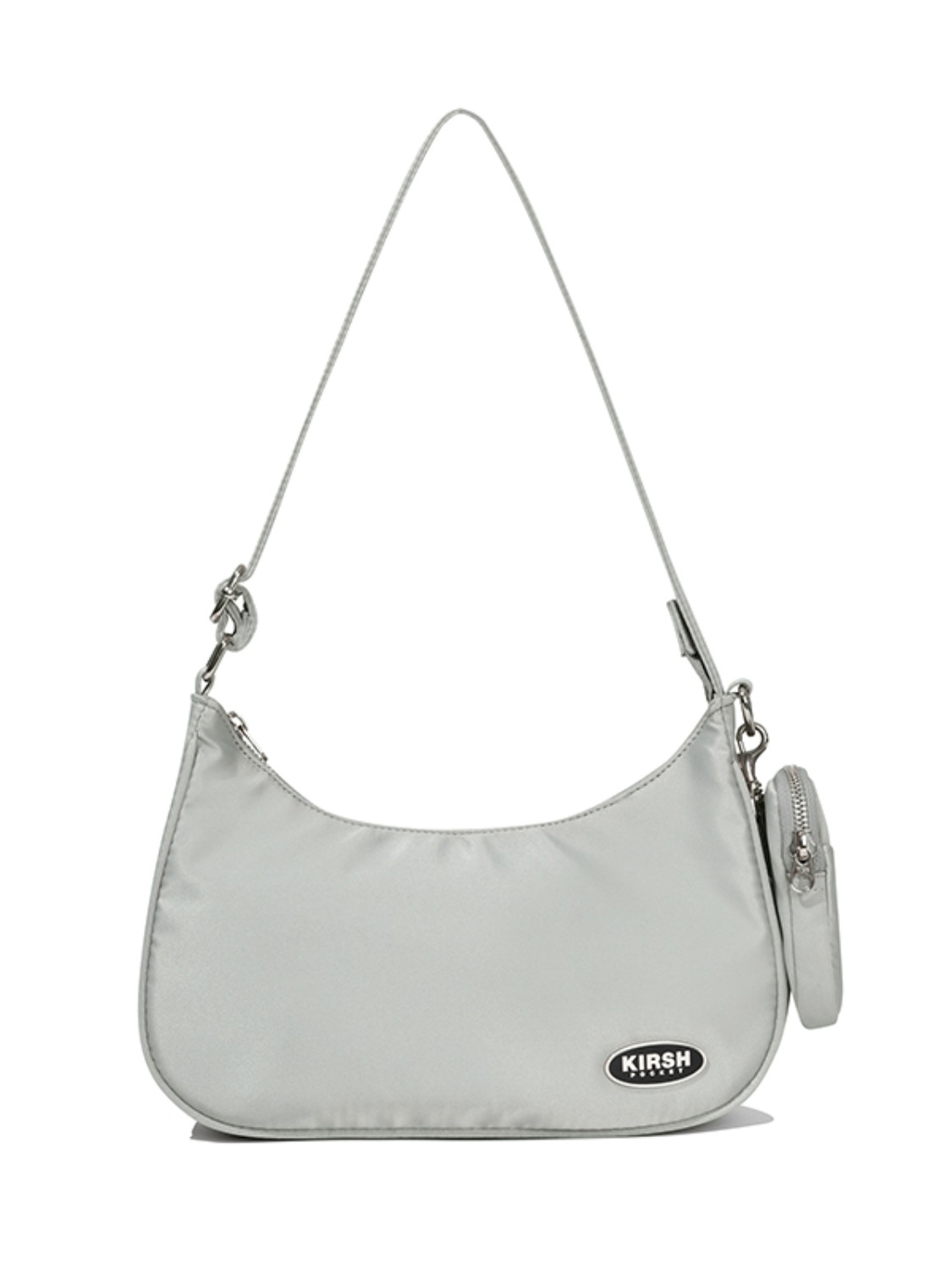 KIRSH POCKET PIPING MINI SHOULDER BAG JA [LIGHT GRAY]