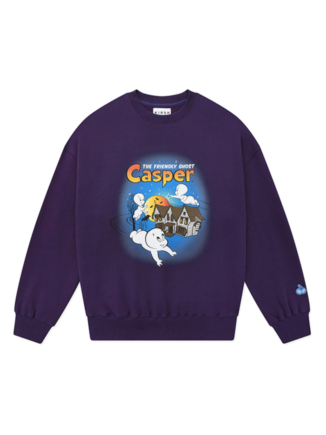 CASPER GRAPHIC SWEATSHIRT JA [DEEP PURPLE]