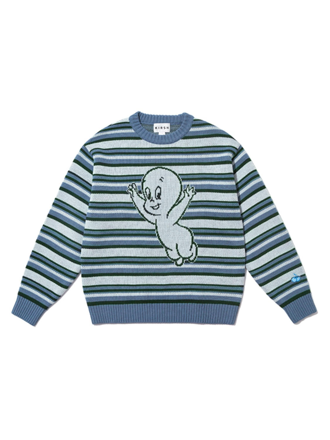 CASPER STRIPE KNIT JA [BLUE]