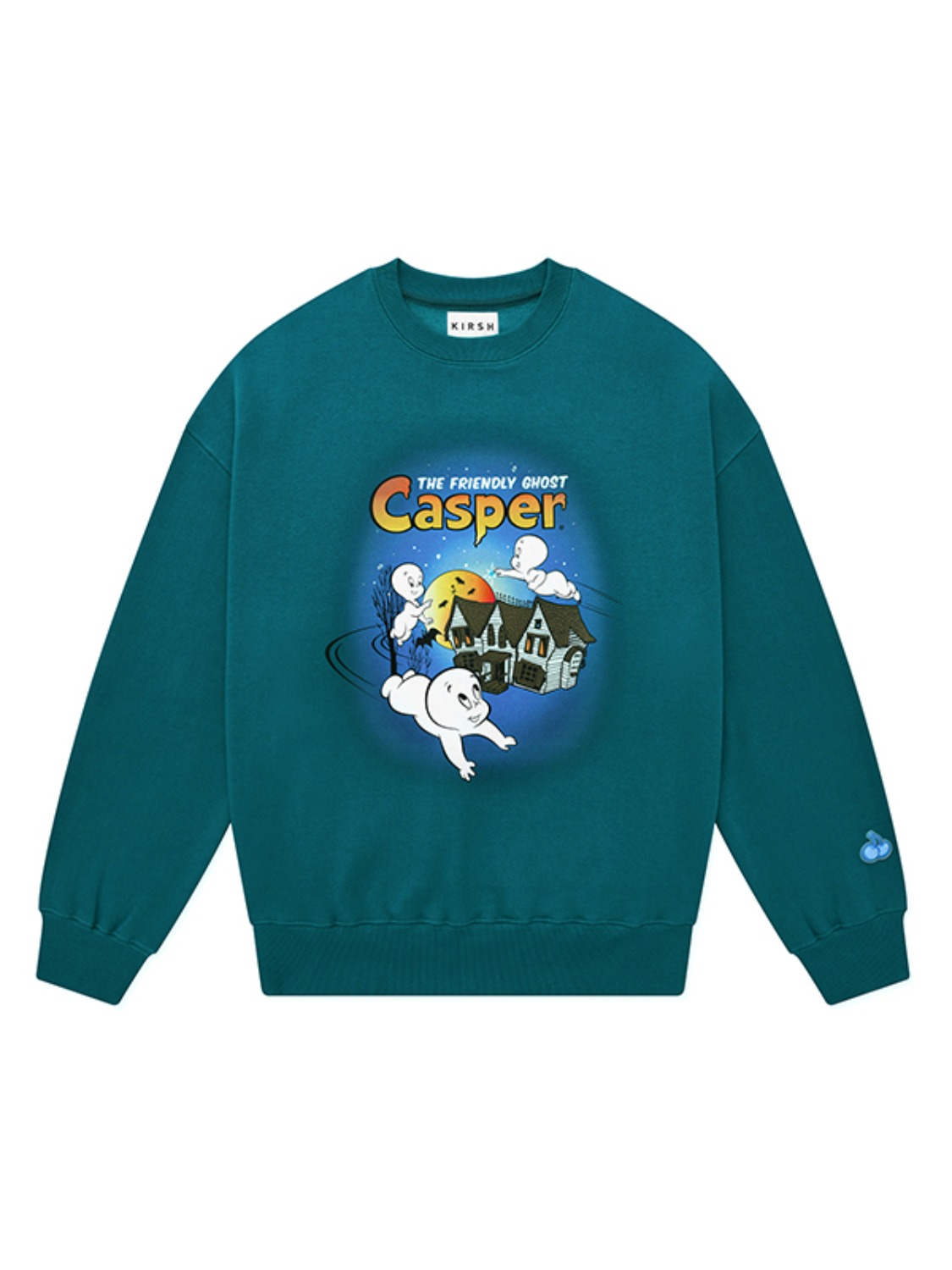 CASPER GRAPHIC SWEATSHIRT JA [BLUE GREEN]