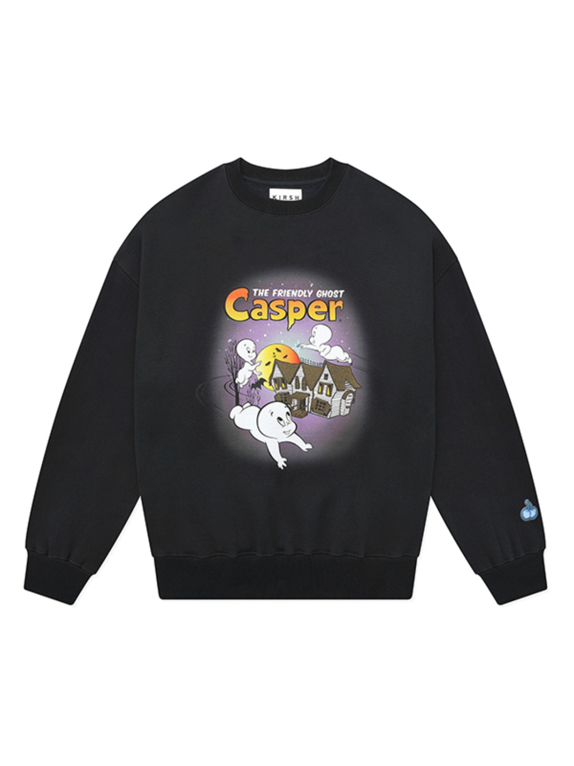 CASPER GRAPHIC SWEATSHIRT JA [CHARCOAL]