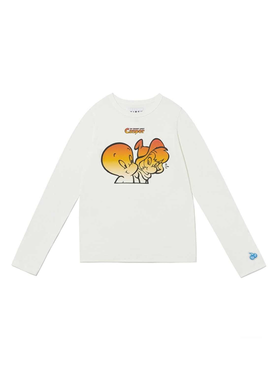 CASPER SLIM LONG SLEEVE T-SHIRT JA [WHITE]