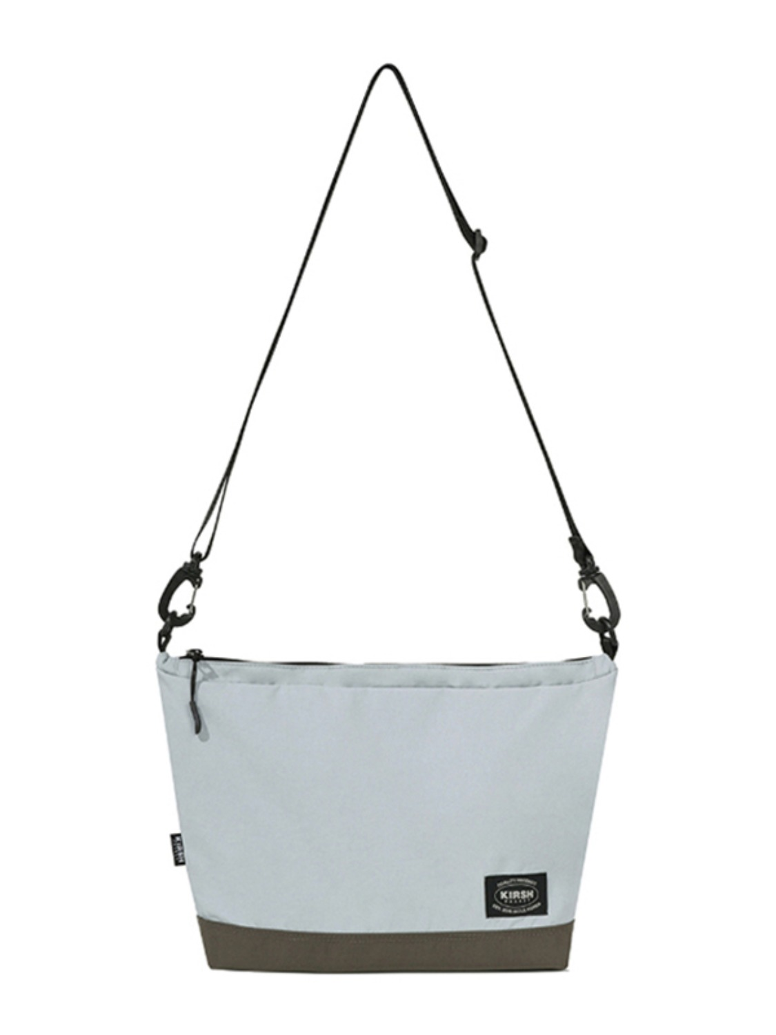KIRSH POCKET NYLON CROSS BAG KS [LIGHT GREY]