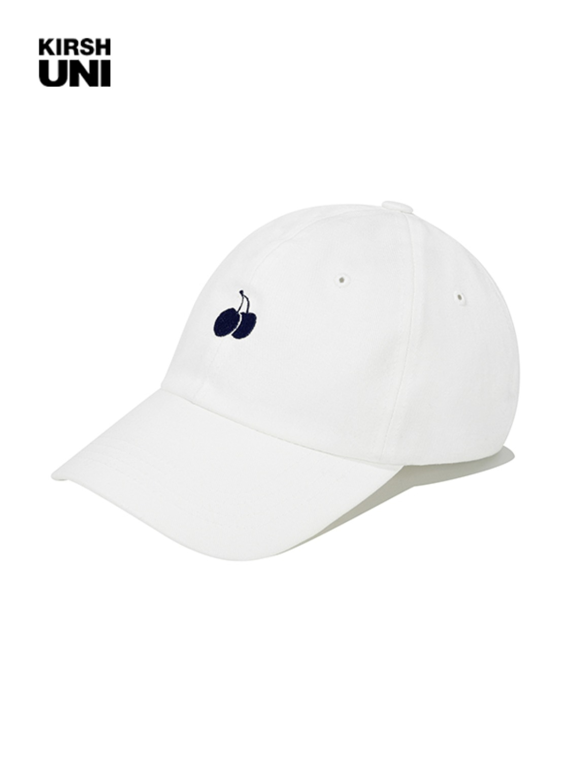 (2월 5일 예약발송)UNI SMALL CHERRY LOGO BALLCAP KS [WHITE]