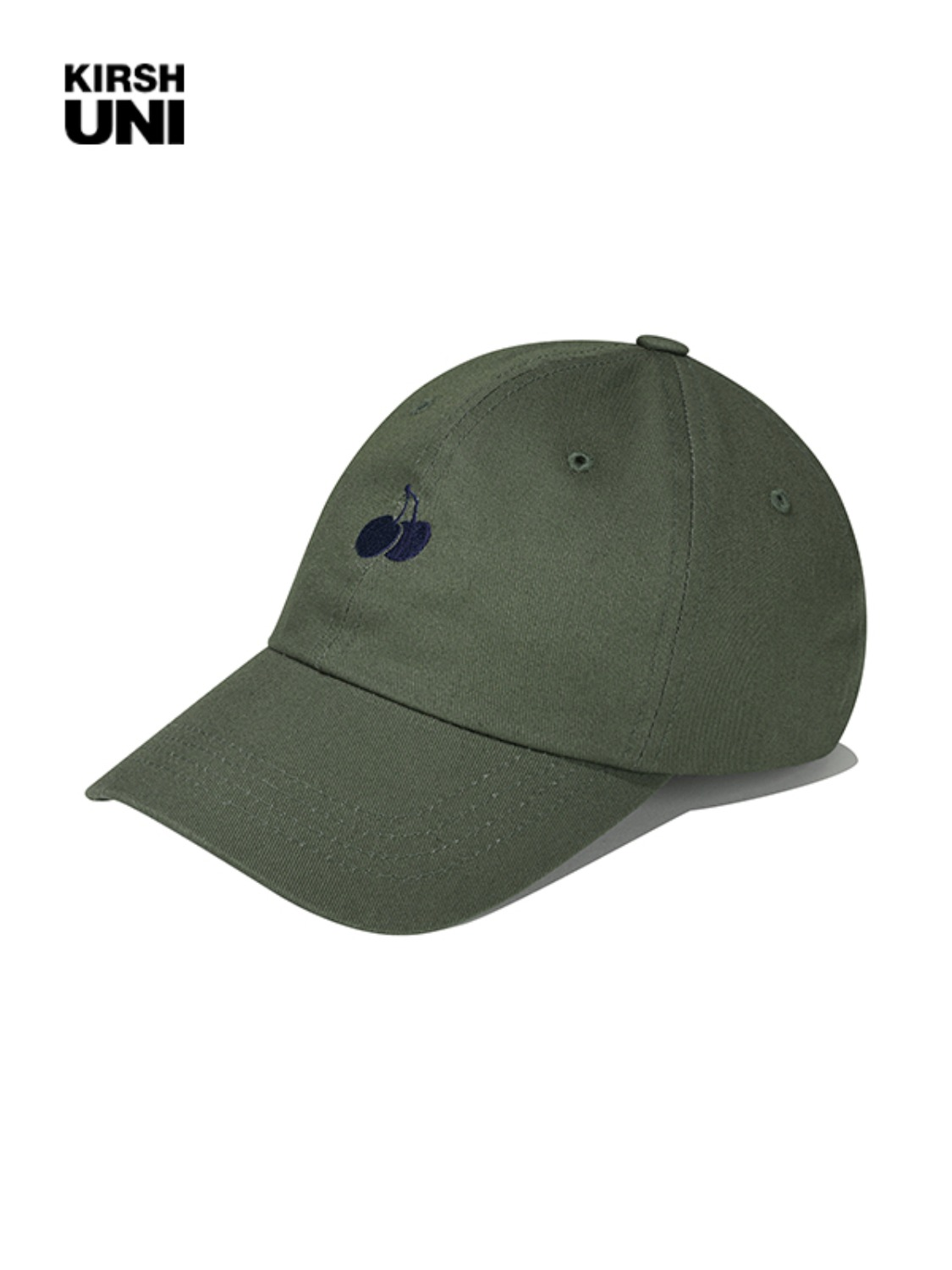 (2월 5일 예약발송)UNI SMALL CHERRY LOGO BALLCAP KS [KHAKI]
